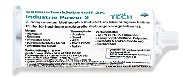 Sekundenklebstoffe 2K Industrie Multi Power 3 (50g)